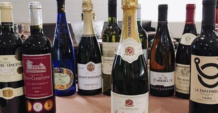 ワイン会 展示