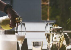 ワイン会シャンパーニュ
